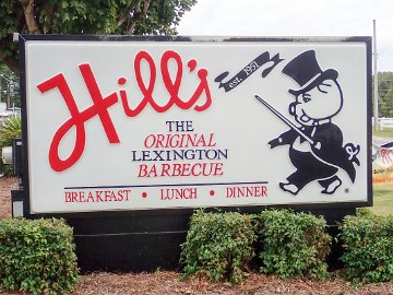Hill's sign